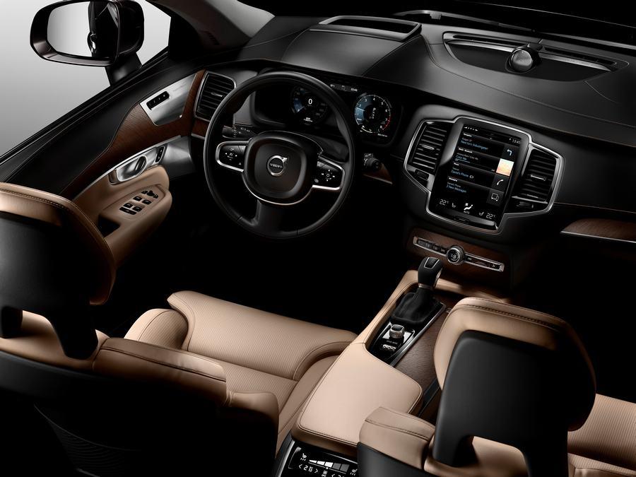 Hình 01 - Nội thất xe Volvo XC90