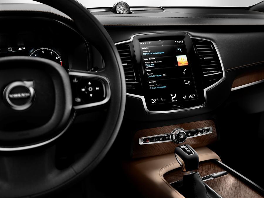 Hình 02 - Nội thất xe Volvo XC90