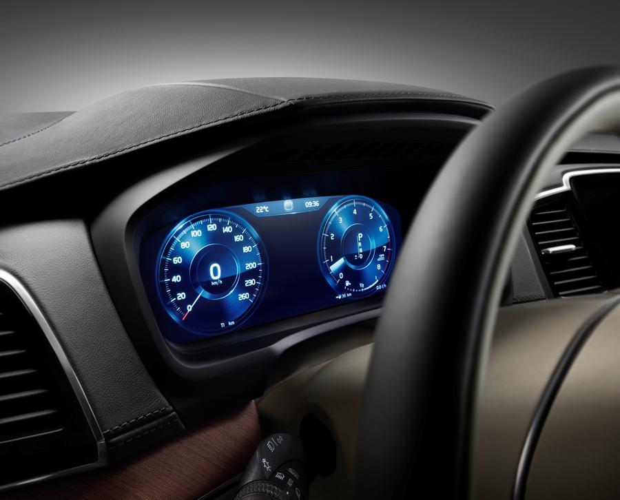 Hình 09 - Nội thất xe Volvo XC90