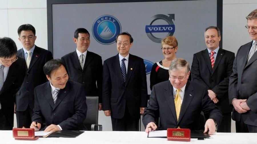 Tập đoàn Geely chính thức mua lại thương hiệu Volvo