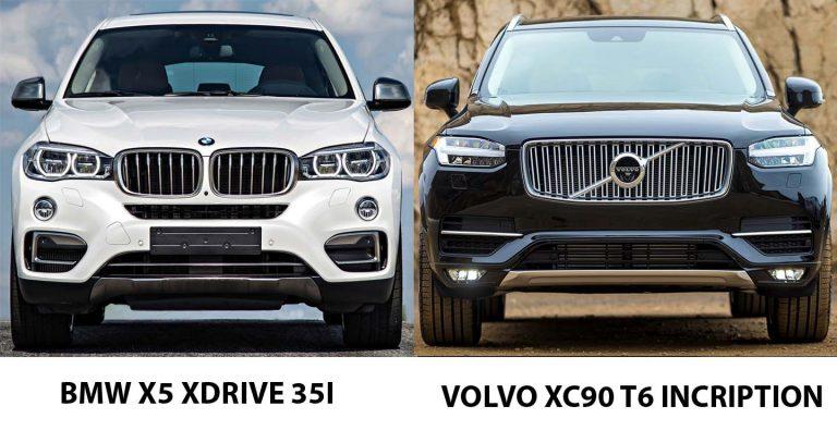 Nên mua Volvo Xc90 hay BMW X5