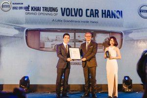 Hình 07: Volvo Car Hà Nội chính thức khai trương
