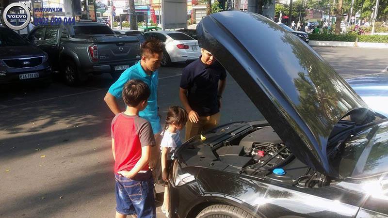 Hình 05- Volvo Sài Gòn tổ chức lái thử xe tại Bình Dương
