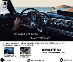Khuyến mãi mua xe Volvo trong tháng 5 và 6/2017