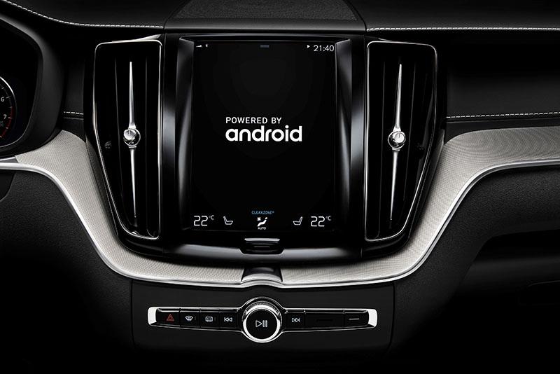 Android auto sẽ xuất hiện trên xe Volvo trong thơi gian sắp tới