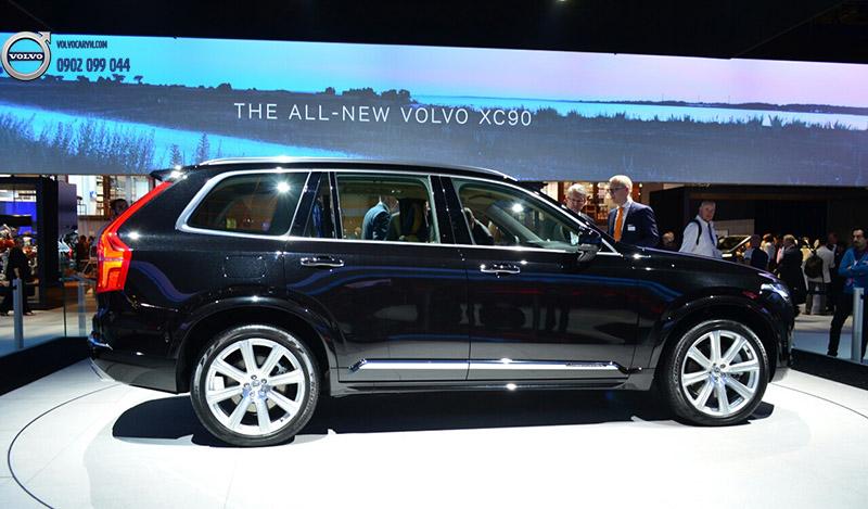 Hình 02: Volvo Việt Nam tham dự Motorshow 2017