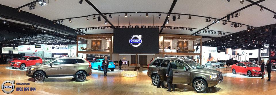 Hình 04: Volvo Việt Nam tham dự Motorshow 2017