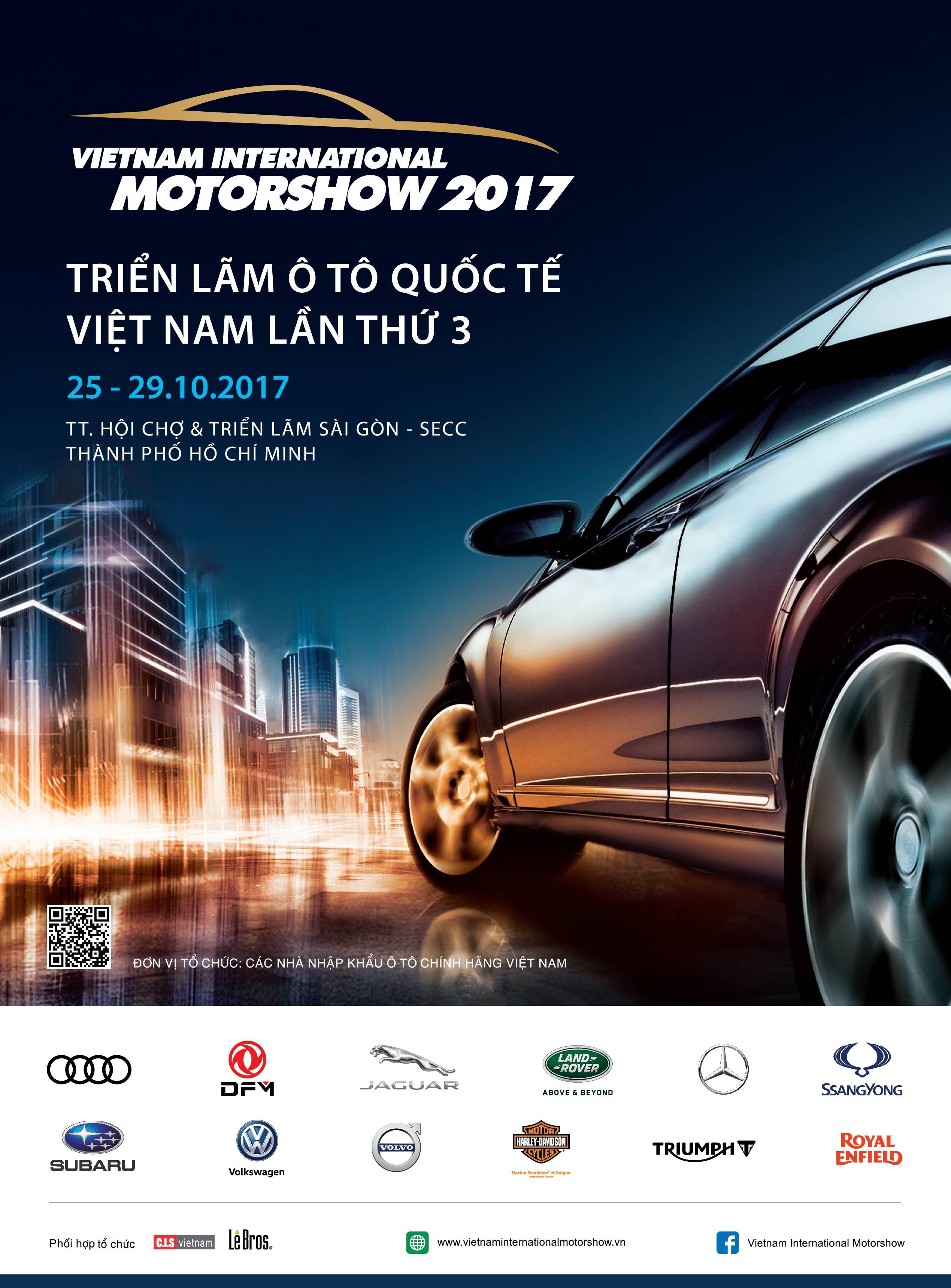 Hình 05: Volvo Việt Nam tham dự Motorshow 2017