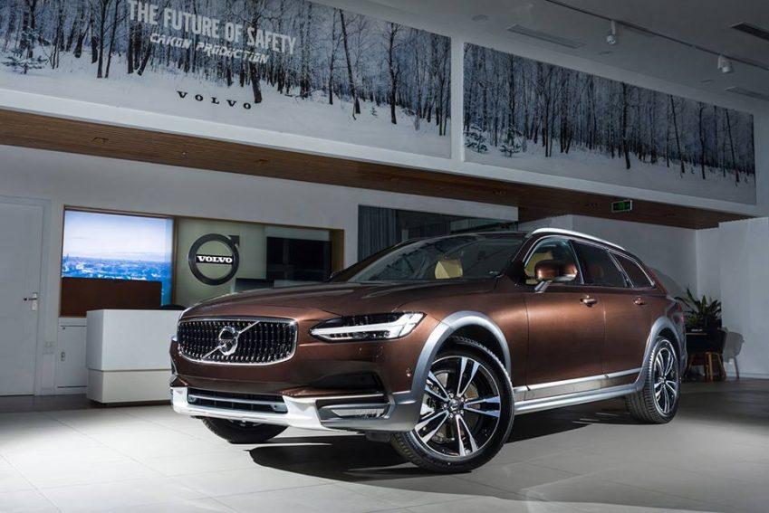 hình ảnh xe Volvo V90 2018