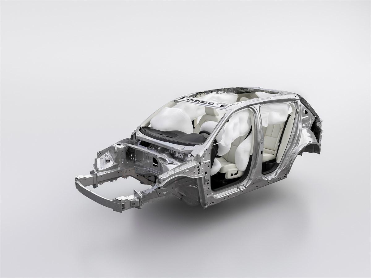 Hệ thống túi khí trên xe Volvo xc40